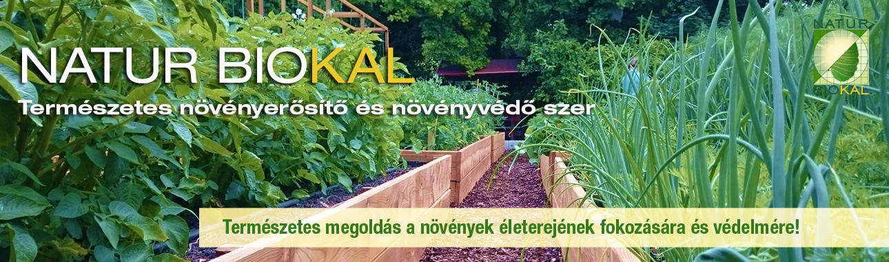 BIOKAL 01 természetes növényerősítő és növényvédő szer